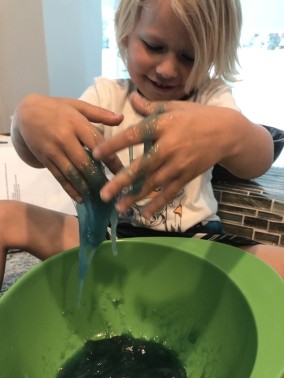 making-slime